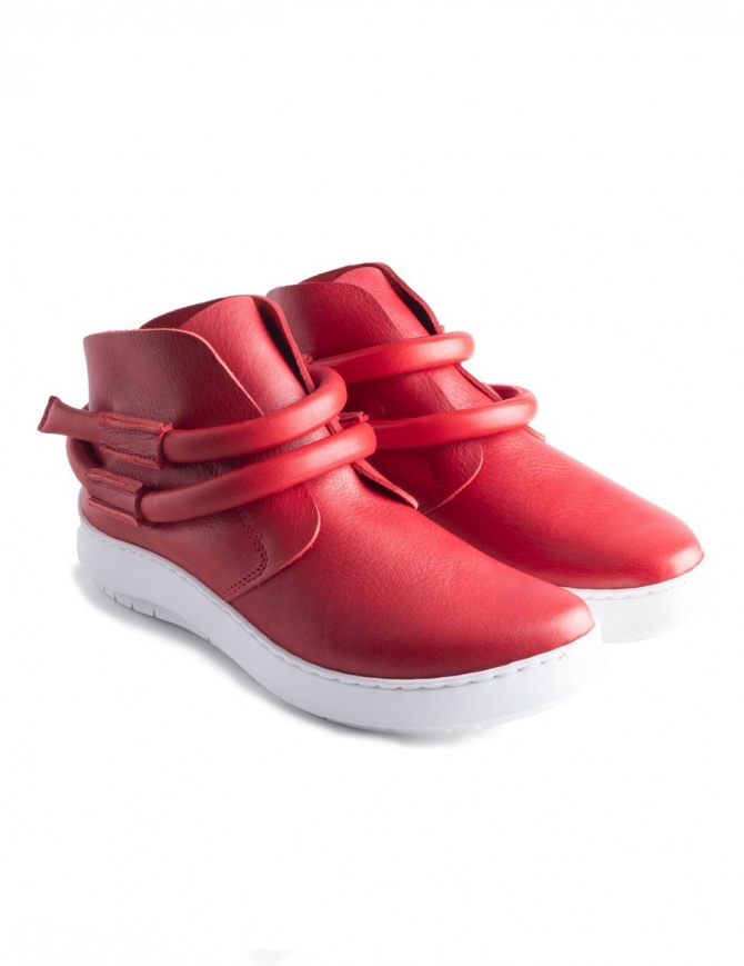 Trippen Dew Red Shoes DEW RED WAW WHT SW womens shoes online shopping