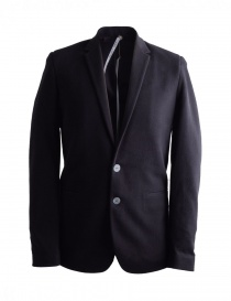 Label Under Construction men's black suit jacket 31FMJC97-CO201B-RG