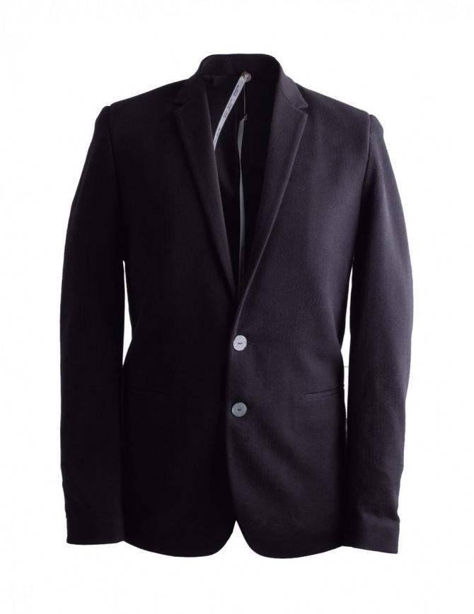 Giacca nera da uomo Label Under Construction 31FMJC97-CO201B-RG giacche uomo online shopping