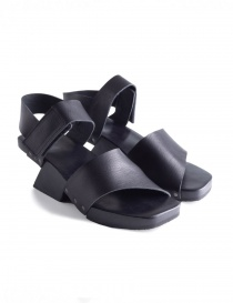 Womens shoes online: Trippen Torrent Black Sandals