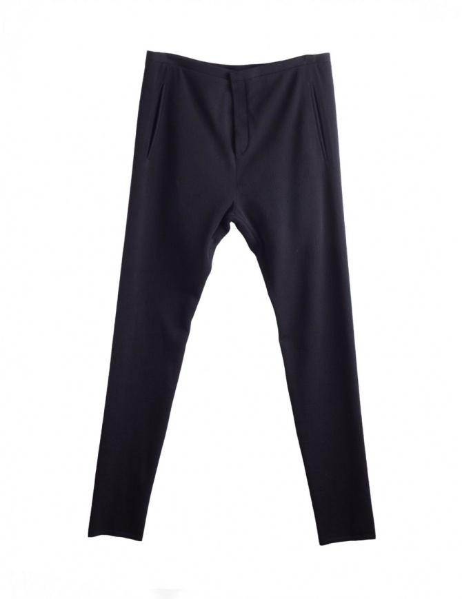 Pantaloni Neri Label Under Construction 31FMPN93-CO201A pantaloni uomo online shopping