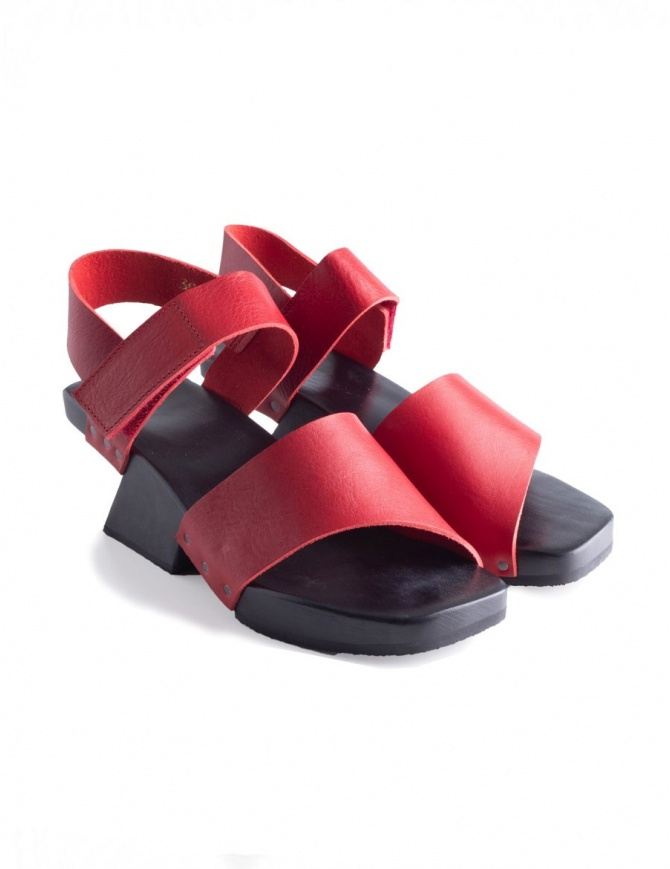Trippen Torrent Red Sandals TORRENT RED RED WAX womens shoes online shopping