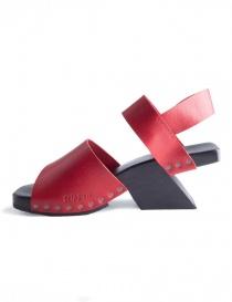 Trippen Torrent Red Sandals
