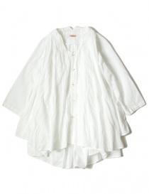Camicia bianca Kapital svasata manica 3/4 online