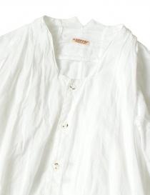 Camicia bianca Kapital svasata manica 3/4 acquista online