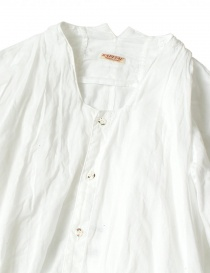 White Kapital flared shirt with 3/4 sleeves buy online