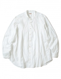 Kapital pleated white shirt with wrinkles online