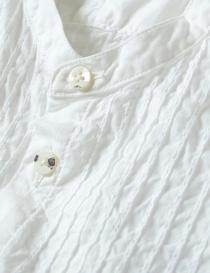 Camicia bianca Kapital con increspature prezzo