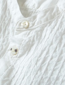 Kapital pleated white shirt with wrinkles price