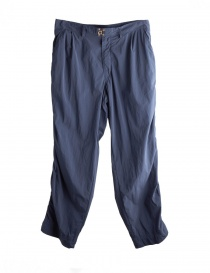 Blue Kolor trousers 18SCM-P11106 NAVY order online