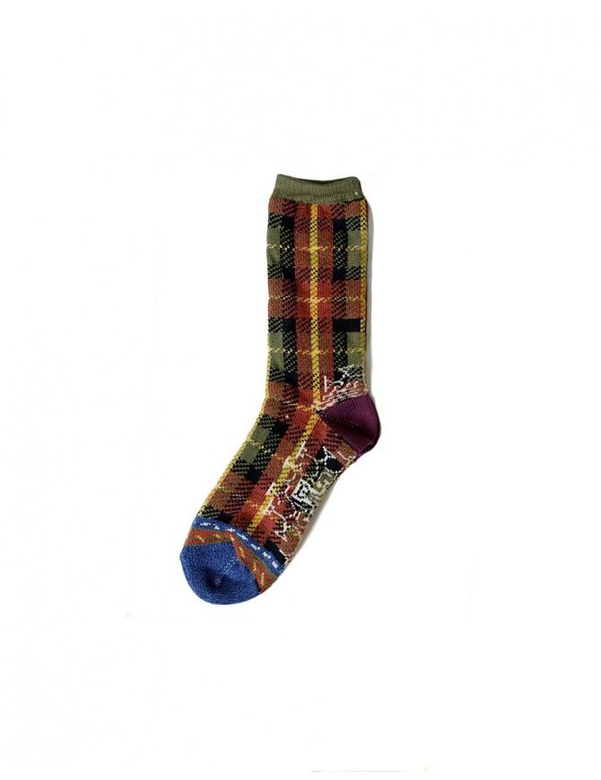 KAPITAL SOCKS K1509XG318 GREEN socks online shopping