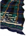 Kapital navy tartan scarf shop online scarves