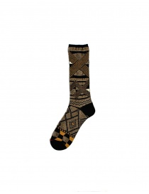 Socks online: Kapital gold black socks