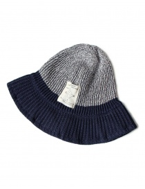 Cappello in stile pescatore Kapital K1605XH579 GRAY