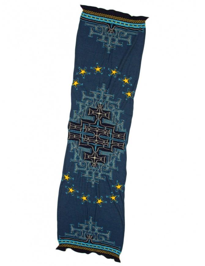 Sciarpa blu Kapital K1710XG575 NAVY SCARF sciarpe online shopping