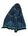 Sciarpa blu Kapitalshop online sciarpe