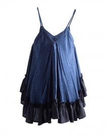 Miyao Blue Star Print Trapeze Camisole buy online