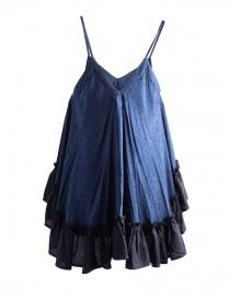 Miyao Blue Star Print Trapeze Camisole