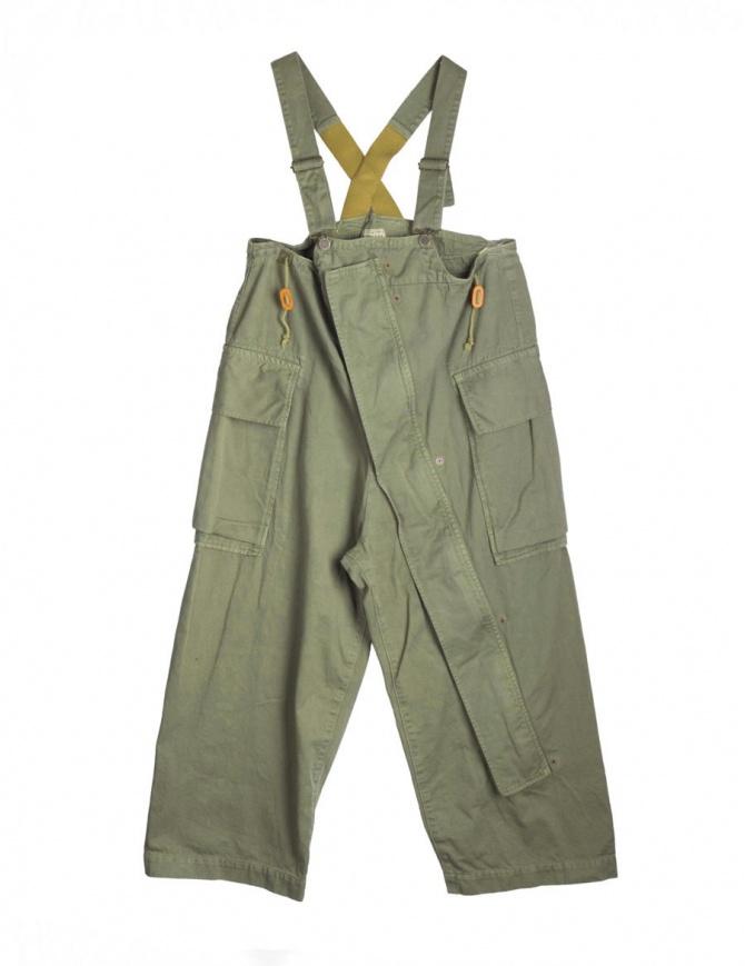 Pantalone con bretelle Kapital K1709OP087 K OVERALL pantaloni donna online shopping