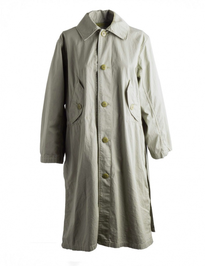 Woman long Kapital coat K1709LJ104 KHAKI COAT womens coats online shopping
