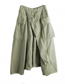 Khaki Kapital trousers with air openings K1710LP165