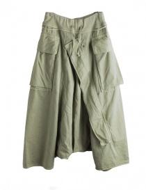 Pantaloni Khaki Kapital con aperture per l'aria online