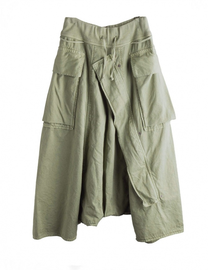 Khaki Kapital trousers with air openings K1710LP165 KHAKI PANTS mens trousers online shopping