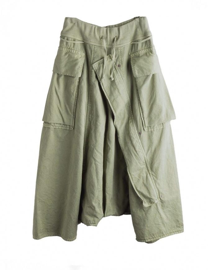 Pantaloni Khaki Kapital con aperture per l'aria K1710LP165 KHAKI PANTS pantaloni uomo online shopping