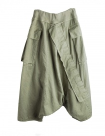 Khaki Kapital trousers with air openings