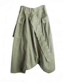 Pantaloni Khaki Kapital con aperture per l'aria