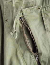 Khaki Kapital trousers with air openings price
