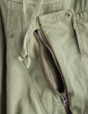 Khaki Kapital trousers with air openings K1710LP165 price