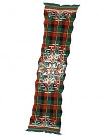 Sciarpa tartan rossa Kapital K1509XG332 GREEN
