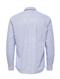 Camicia a righe blu Selected Homme