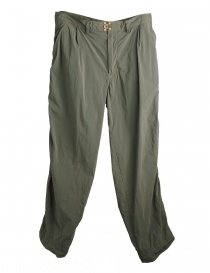 Mens trousers online: Sage green Kolor trousers