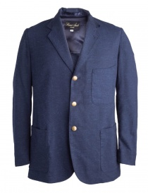 Mens suit jackets online: Haversack blue jacket gold buttons