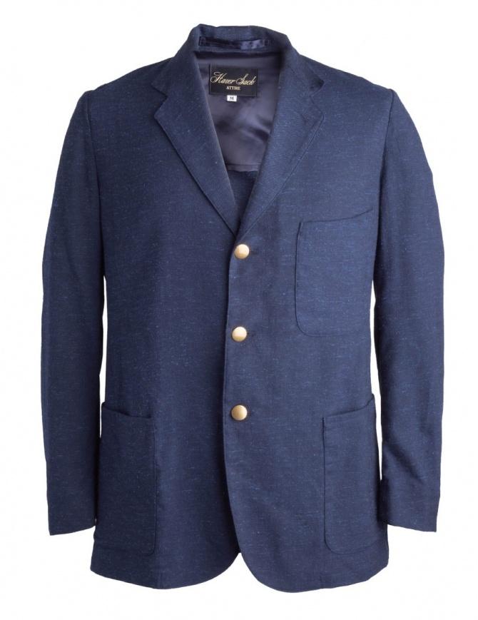 Giacca Blu Haversack bottoni dorati 871810/59 JACKET giacche uomo online shopping