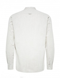 Selected Homme stippled ivory shirt