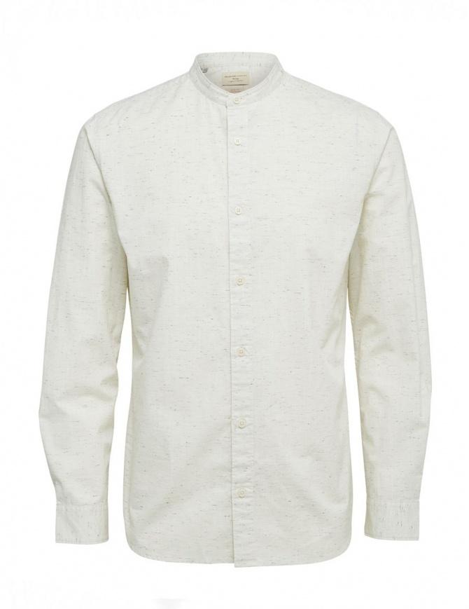 Camicia avorio Selected Homme 16059955 WHITE camicie uomo online shopping