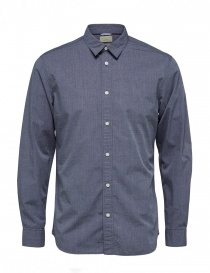 Mens shirts online: Dark saphire Selected Homme shirt