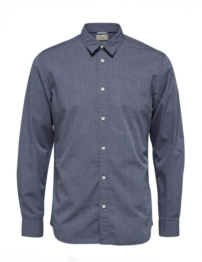 Dark saphire Selected Homme shirt 16060040 DARK SAPHIRE mens shirts online shopping