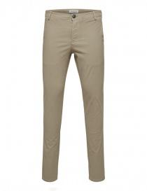 Pantaloni greige Selected Homme 16408096 GREIGE order online
