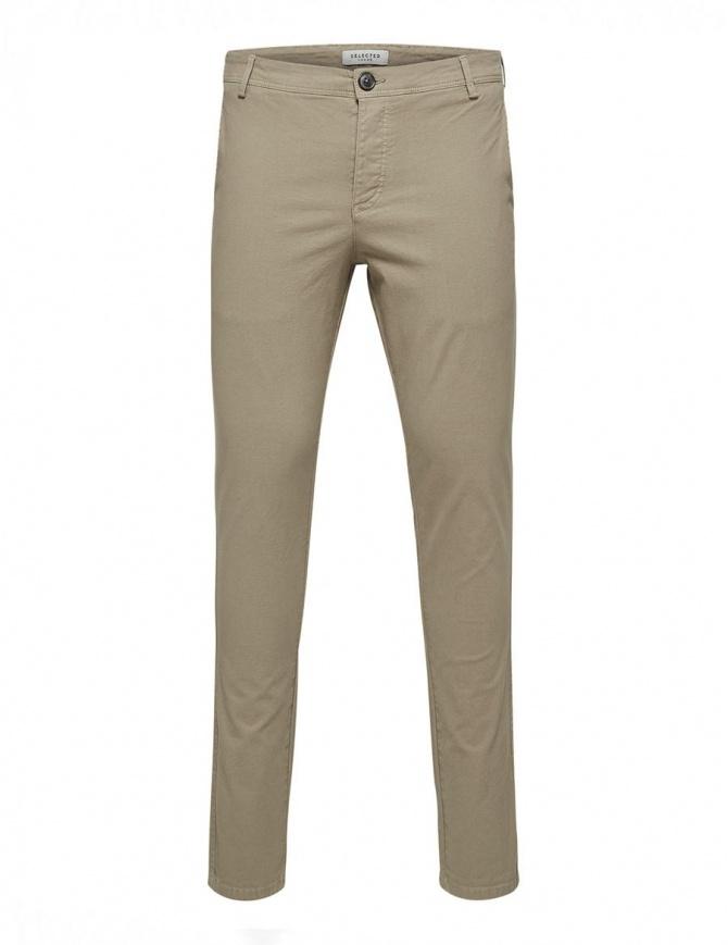 Pantaloni greige Selected Homme 16408096 GREIGE pantaloni uomo online shopping