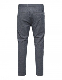 Selected Homme trousers with dark blue weft