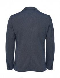 Giacca blu scuro Selected Homme con spilla