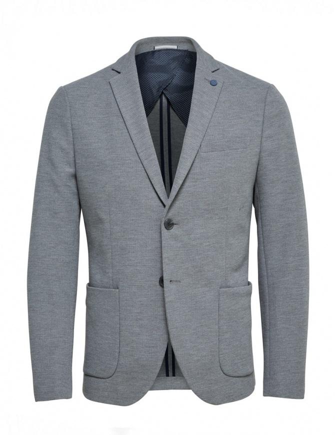Giacca grigio chiaro Selected Homme 16059836 LIGHT GREY giacche uomo online shopping