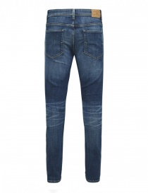 Selected Homme dark blue elasticated jeans buy online