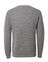 Maglione grigio chiaro Selected Hommeshop online maglieria uomo