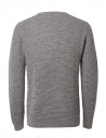 Selected Homme mid gray sweater shop online mens knitwear