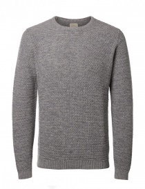 Maglione grigio chiaro Selected Homme 16051309 MID GRAY order online